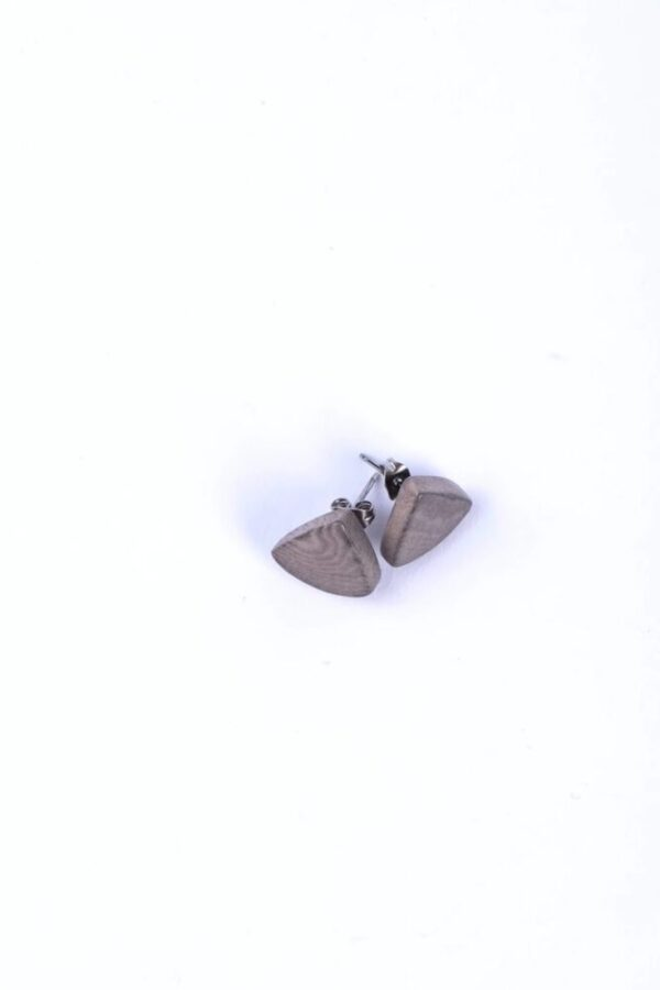 Beautiful rust-resistant Classic Tagua Spot Studs over view on a white background.